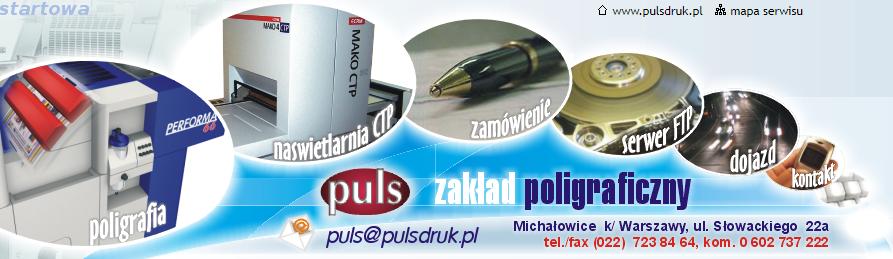 Puls Druk Warszawa - druk offsetowy